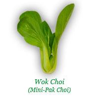 Wok Choi (Mini-Pak Choi)